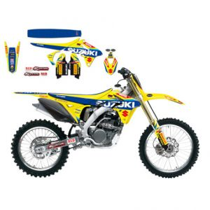 BLACKBIRD RACING 8319R6 REPLICA TEAM SUZUKI WORLD MXGP 2017 GRAPHIC + SEAT COVER KIT