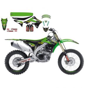 BLACKBIRD RACING 8420R9 REPLICA KAWASAKI RACING TEAM GRAPHIC + SEAT COVER KIT