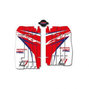 BLACKBIRD RACING A101R17 REPLICA TEAM HONDA HRC 2017 RADIATOR LOUVER STICKERS