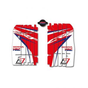 BLACKBIRD RACING A102R17 REPLICA TEAM HONDA HRC 2017 RADIATOR LOUVER STICKERS