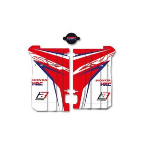 BLACKBIRD RACING A104R17 REPLICA TEAM HONDA HRC 2017 RADIATOR LOUVER STICKERS