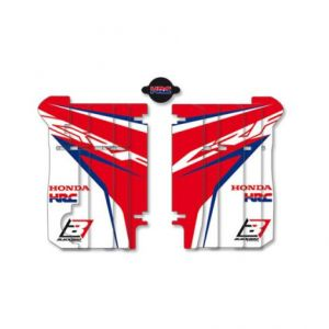 BLACKBIRD RACING A105R17 REPLICA TEAM HONDA HRC 2017 RADIATOR LOUVER STICKERS