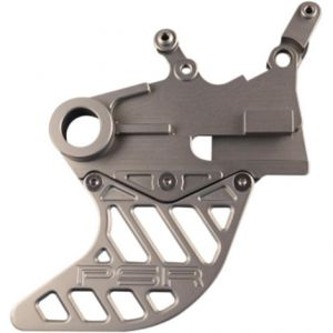POWERSTANDS RACING 00-04100-29 GUARD REAR DISC ALUMINUM ANODIZED GUN METAL