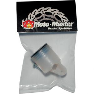 MOTO-MASTER 213006 RESERVOIR RADIAL MASTER CYCLINDER WHITE