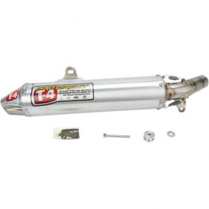 PRO CIRCUIT 4QH06450S SLIP-ON MUFFLER/SILENCER T-4 STAINLESS ALUMINIUM ATV