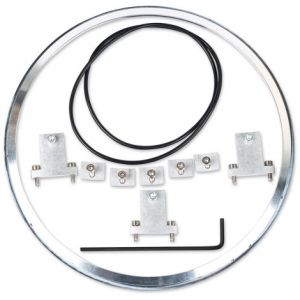 J.W. SPEAKER 0703421 HEADLIGHT MOUNTING KIT 101 ALUMINIUM RING