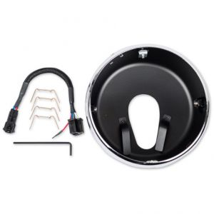 J.W. SPEAKER 0703431 HEADLIGHT MOUNTING KIT 300 ALUMINIUM RING