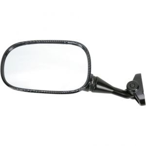 EMGO 20-87034 MIRROR OEM REPLACEMENT FOR HONDA CARBON LEFT
