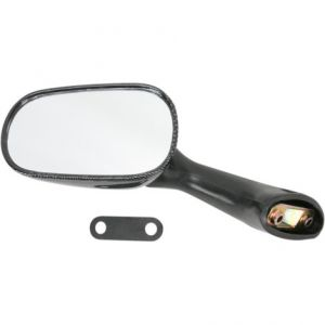 EMGO 20-87092 MIRROR OEM REPLACEMENT FOR HONDA CARBON LEFT