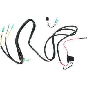 TRAIL TECH 040-WH7A WIRE HARNESS WITH PUSCH BUTTON SWITCH