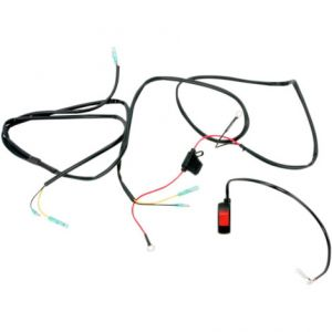 TRAIL TECH 040-WH7B WIRE HARNESS WITH HANDLEBAR MOUNTED SWITCH