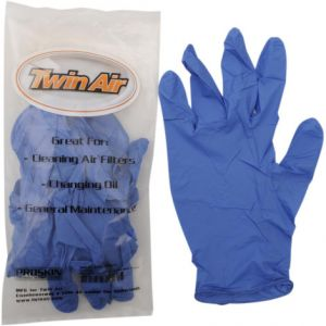 TWIN AIR 177728 NITRILE RUBBER GLOVES 10-PACK