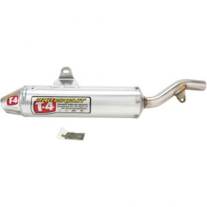 PRO CIRCUIT 4QH93300 SLIP-ON MUFFLER/SILENCER T-4 STAINLESS ALUMINIUM ATV