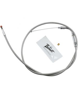 """BARNETT 102-30-40014-06 IDLE CABLE STAINLESS STEEL OVERSIZE +6""""(152MM)"""