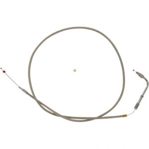 "BARNETT 306-96SC+6-DS THROTTLE CABLE STAINLESS STEEL OVERSIZE +6""(152MM)"