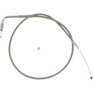 BARNETT 102-30-30010 THROTTLE CABLE STAINLESS STEEL STANDARD LENGTH