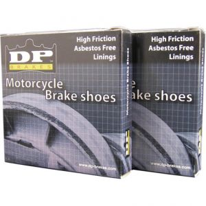DP BRAKES 9203 BRAKE SHOE ASBESTOS FREE SINTERED METAL