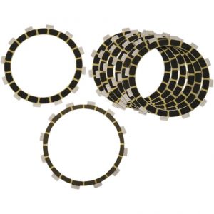 BARNETT 302-90-20055 CLUTCH FRICTION PLATE KIT CARBON FIBER 8 PLATES