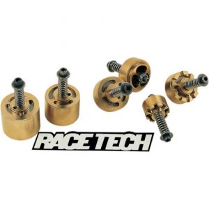 RACE TECH FMGV S2040B FORK GOLD VALVE KIT