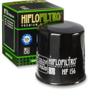 HIFLOFILTRO HF156 OIL FILTER SPIN-ON PAPER GLOSSY BLACK