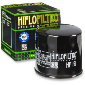 HIFLOFILTRO HF191 OIL FILTER SPIN-ON PAPER GLOSSY BLACK
