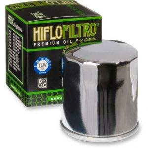 HIFLOFILTRO HF303C OIL FILTER SPIN-ON PAPER CHROME