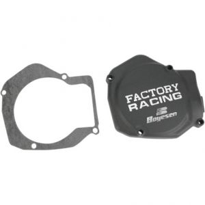 BOYESEN SC01AB IGNITION COVER FACTORY RACING ALUMINUM REPLACEMENT BLACK