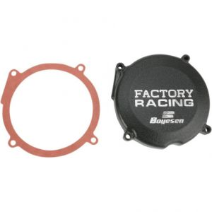 BOYESEN SC02B IGNITION COVER FACTORY RACING ALUMINUM REPLACEMENT BLACK