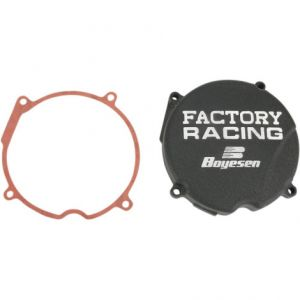 BOYESEN SC03B IGNITION COVER FACTORY RACING ALUMINUM REPLACEMENT BLACK