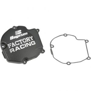 BOYESEN SC-11AB IGNITION COVER FACTORY RACING ALUMINUM REPLACEMENT BLACK
