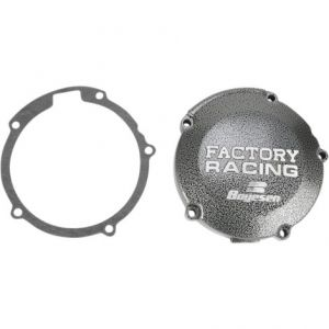 BOYESEN SC11 IGNITION COVER FACTORY RACING ALUMINUM REPLACEMENT SILVER | BLACK