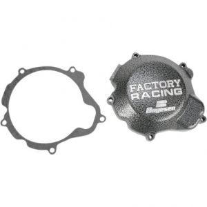 BOYESEN SC-12 IGNITION COVER FACTORY RACING ALUMINUM REPLACEMENT SILVER | BLACK