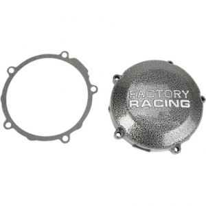 BOYESEN SC14X IGNITION COVER FACTORY RACING ALUMINUM REPLACEMENT SILVER | BLACK