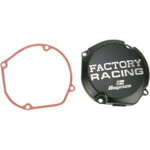 BOYESEN SC23B IGNITION COVER FACTORY RACING ALUMINUM REPLACEMENT BLACK