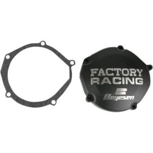 BOYESEN SC33B IGNITION COVER FACTORY RACING ALUMINUM REPLACEMENT BLACK