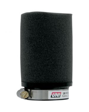 UNI FILTER UP-4229 CLAMP-ON POD FILTER STRAIGHT BLACK