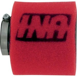 UNI FILTER UP-4200ST CLAMP-ON TWO STAGE POD FILTER STRAIGHT RED/BLACK