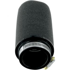 UNI FILTER UP-5182 CLAMP-ON POD FILTER STRAIGHT BLACK