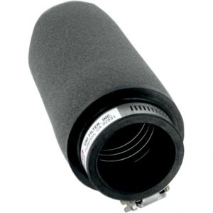 UNI FILTER UP-6182 CLAMP-ON POD FILTER STRAIGHT BLACK