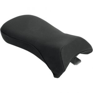 SADDLEMEN Y0170J SOLO PILLION PAD RENEGADE™ SPORT REAR SADDLEHYDE™|SADDLEGEL™ PLAIN BLACK